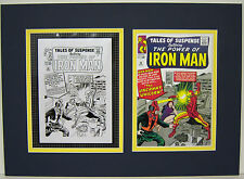 Production Art JACK KIRBY Tales of Suspense #56 matted w/cover print