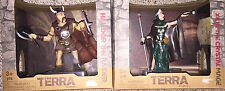 Terra by Battat figures new Halldor The Raider and Xiun the Crystal Mage