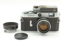 [Exc+5] Canon P Rangefinder Camera Body + Lens 50mm f/1.8 LTM + Meter from JAPAN