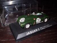 24H44M voiture 1/43 IXO 24 Heures Le Mans : TYPE C winner 1st 1951 #20