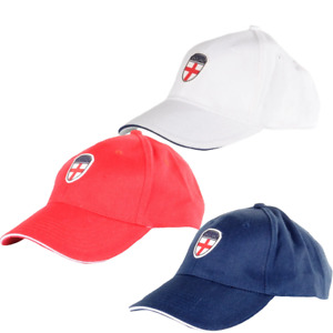 England St Georges Cross Badge Baseball Cap  Mens Size