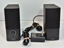 Bose Companion 2 Series III Multimedia Speaker System w power & AUX cable