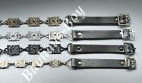 KILT SPORRAN CHAIN CELTIC KNOT LINK FANCY DESIGN 3 COLOUR VARIANT SCOTTISH GENTS
