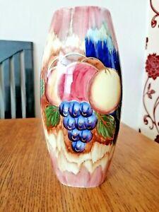 Vintage Oldcourt Lustre Ware Vase, Hand painted, circa 1955