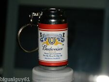 Budweiser Beer Can Shaped Butane Keychain Lighter USA Stocked And Shipped