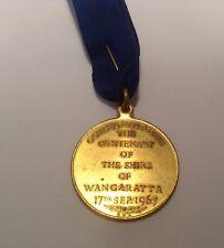 BRT Rare 1867 to 1967 Centenary of the Shire Wangaratta Council Medallion