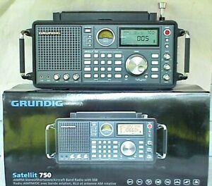 Grundig Satellit 750 AM FM Shortwave Radio. NICE!!!