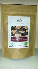 UK Soil Assoc Cert Organic Red Reishi mushroom Powder 200g (Ganoderma Lucidum)