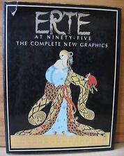 Erte at Ninety-Five-The Complete New Graphics-Art Deco-Jugendstil