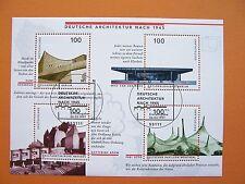 Block  37  ESST Bonn , BRD 1997,  Dt. Architektur