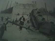 book picture ww1 world war one - 1914 - lizy france war damage train wreck