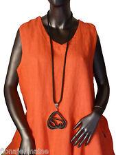 Designer Kette Kautschukkette Halskette extra lang federleicht zum Lagenlook 01