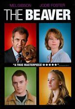The Beaver (Dvd, 2011) Mel Gibson, Jodie Foster, Anton Yelghin, Jennifer Lawrenc