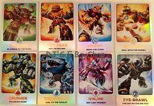 Skylanders Giants Topps - Foil Trading Cards #124-171 - You Choose