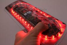 "20"" Super Red UltraBrights LED Flexible 12V Car Headlight Waterproof Light Strip"