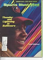 1969 Sports Illustrated baseball magazine Frank Robinson, Baltimore Orioles EX