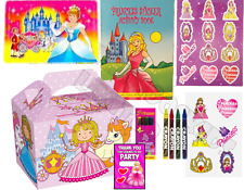 Pre Filled Girls Princess Party Box - Childrens Parties Activity Gift Bag