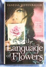 VANESSA DIFFENBAUGH The Language of Flowers SIGNED & dated UK first 1st edition