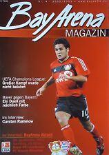 Programm 2002/03 Bayer 04 Leverkusen - Bayern München