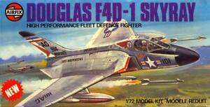 1976 Airfix Models 1/72 DOUGLAS F4D-1 SKYRAY Navy Jet Fighter *MINT*