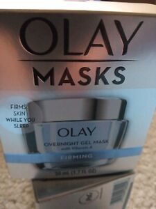 Olay Firming Overnight Gel Face Mask with Vitamin A, 1.7 fl oz NEW