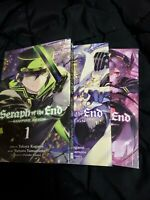 Seraph Of The End Manga Collection Books 1-3