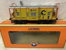✅LIONEL SMOKING CHESSIE I-12 WAGON TOP CABOOSE! 6-17648  B&O