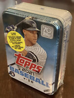 2021 Topps Series 1 MLB Baseball Collectible Trading Cards Tin Aaron Judge