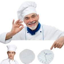 Adult Tall White Chefs' Baker Cook Chef Chef's Hat Fancy Dress Costume Accessory