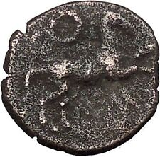 MORGANTINA Sicily Punic Occupation Carthage General Himilco Greek Coin i47330