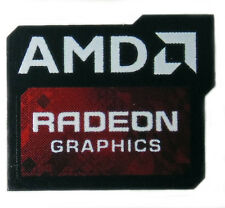 AMD RADEON GRAPHICS STICKER LOGO AUFKLEBER 19,5x16,5mm (140)