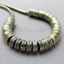 30PCs Wholesale European Beads With Carved Design - Spacers For Charm Bracelets