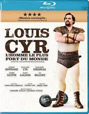 BLU RAY -  LOUIS CYR - THE STRONGEST MAN IN THE WORLD - L'HOMME LE PLUS DU MONDE