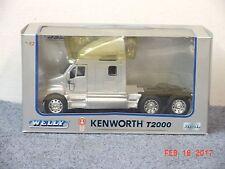 KENWORTH MODEL T2000 SILVER TRUCK, 1/32, DIECAST, NIB