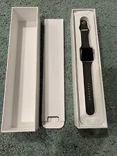 Apple Watch Series 2 42mm Aluminum Case Cocoa Sport Band READ DESCRIPTION