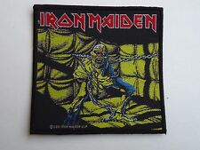 IRON MAIDEN PEACE OF MIND WOVEN PATCH