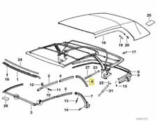 BMW 3 SERIES E36 Folding Roof Rail Rear Right Drivers Side 54318135294