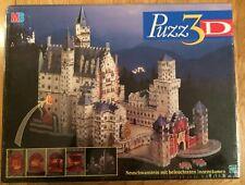 New & Sealed Puzz 3D Neuschwanstein Mit Beleuchteten Innenraumen (1998)
