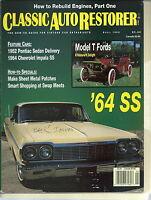 NG-011 - Classic Auto Restorer, Apr 1993, Rebuild Engines, Sheet Metal Patches