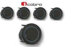 COBRA r0294s 4 VIE AUTO POSTERIORE SENSORE DI PARCHEGGIO KIT 22mm SLIM FIT NERO