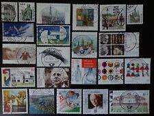 48 Briefmarken Bund aus Jahrgang 2004 gestempelt