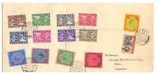 NYASALAND 1945 LARGE COVER USED GVI ½d TO £1 ( 14 VALUES )