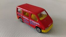 Voiture Miniature Majorette « City Bus Ford Transit N°243» 1/60 TBE.