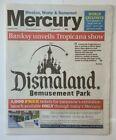 "Banksy Dismaland Bemusement Park - Local Newspaper ""Mercury"""