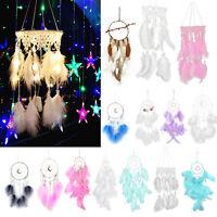 Dream Catcher LED Light StringRoom Wall Hanging Fairy DreamCatcher Wedding Decor
