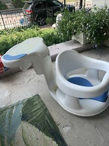 Safety 1st Tubside Baby Bath Seat Swivel White Over Edge