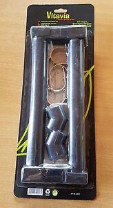 GENUINE Vitavia Greenhouse 2 Piece Rainwater Downpipe Kit - (Halls 6ft See Note)