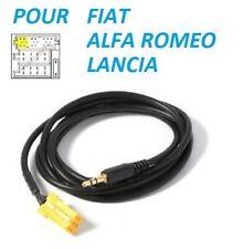 Cable Jack Auxiliaire Mp3 Audio autoradio Alfa Romeo Mito