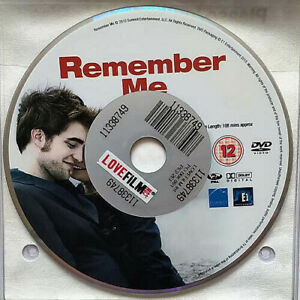 Remember Me (DVD) Disc Only - Robert Pattinson - Emilie De Ravin - (2010)