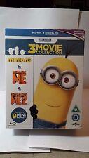 Minions Collection:Despicable Me 1 & 2 & Minions[Blu-ray Box Set,Region Free]NEW
